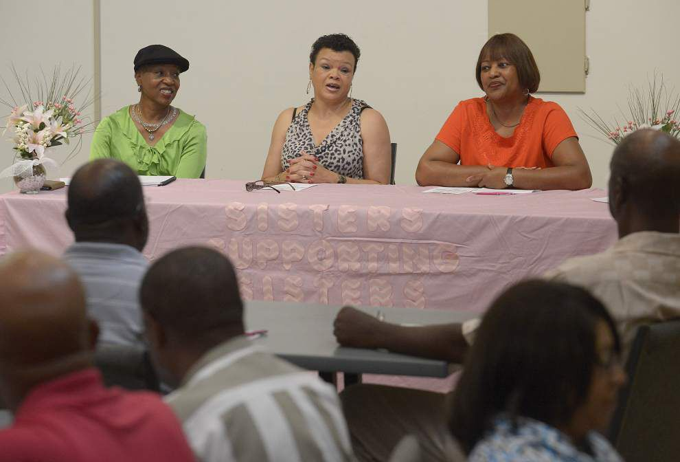 Program allows women to share stories of breast cancer survival with men _lowres