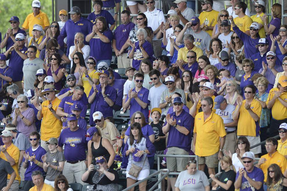 LSU opens season against Kansas hoping to reverse attendance trend _lowres