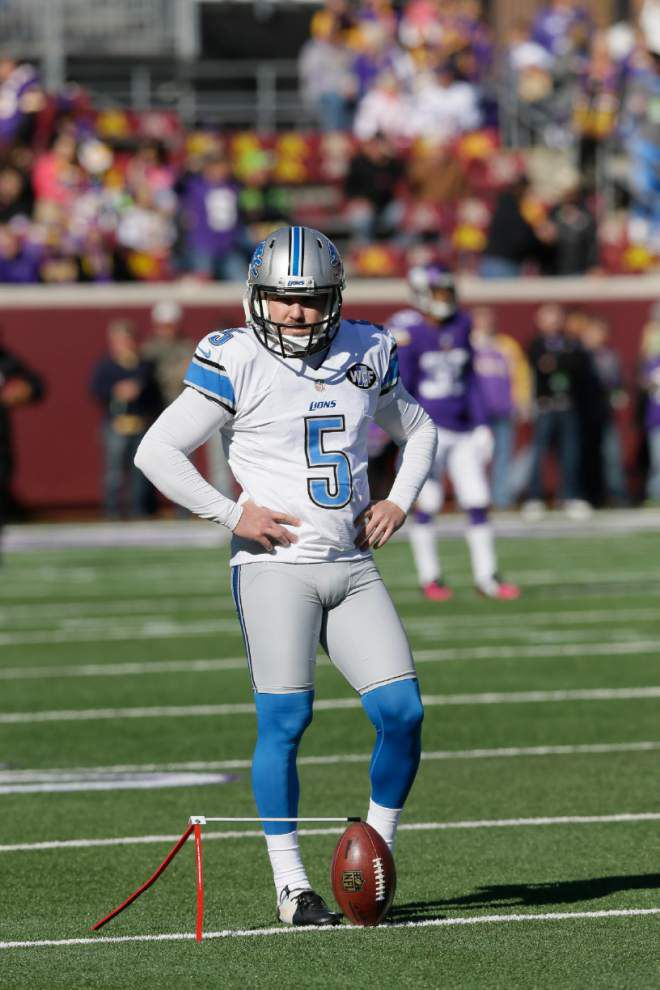 Entering Sunday's matchup, the Lions would relish the relative stability at kicker that the Saints have with Shayne Graham _lowres