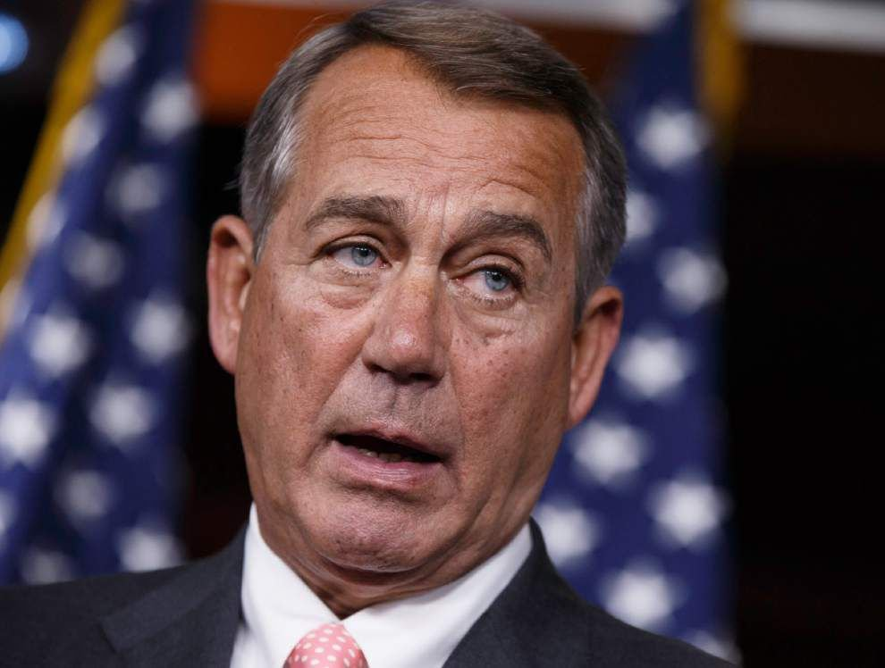 Boehner: No border money without policy changes _lowres