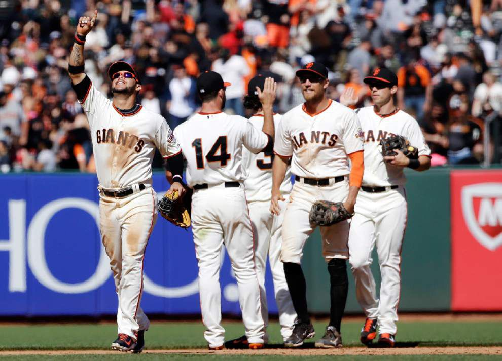 A's, Giants give Bay Area high hopes for playoffs _lowres