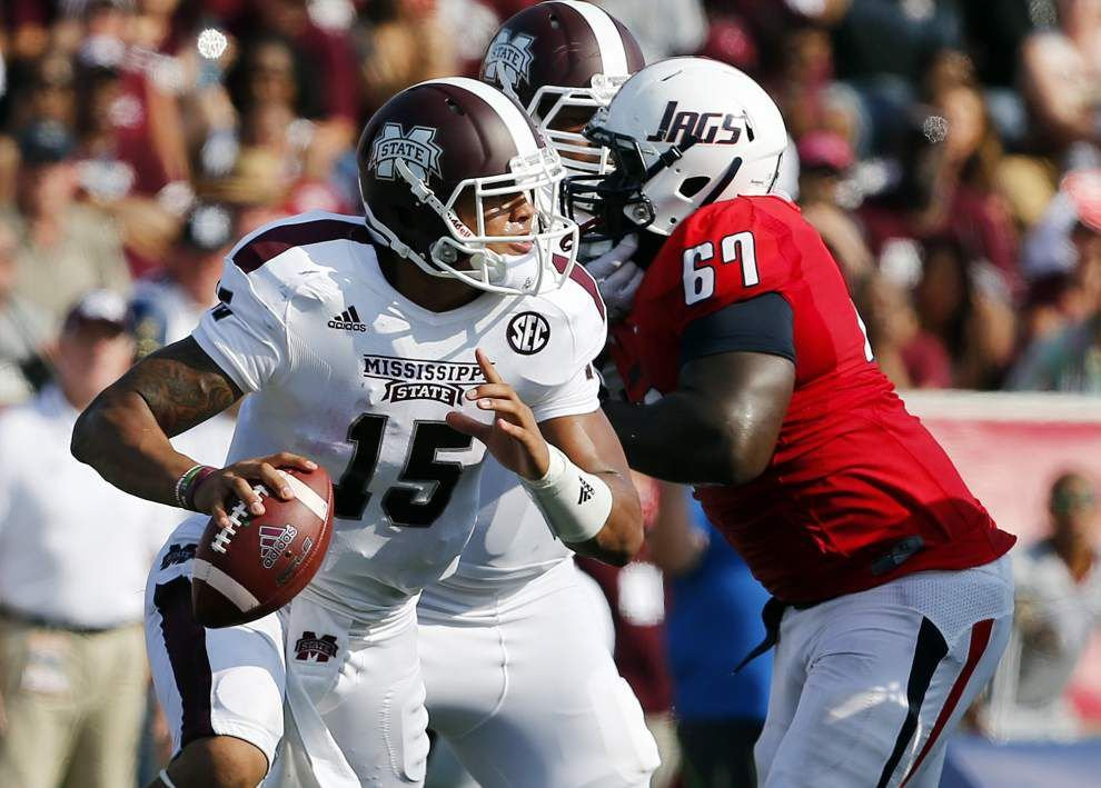 Already a legend in north Louisiana, Mississippi State's Dak Prescott takes aim at LSU _lowres