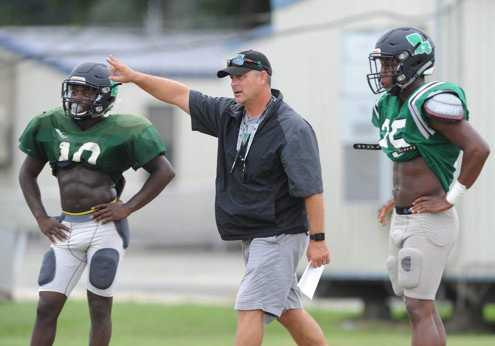 Acadiana area football coaches moving on: Chad Blanchard leaving Patterson; Jay Domengeaux steps down at Lafayette _lowres