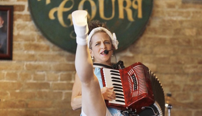 Ellen DeGeneres snarked on local one-of-a-kind performer Valerie Sassyfras on her show today_lowres