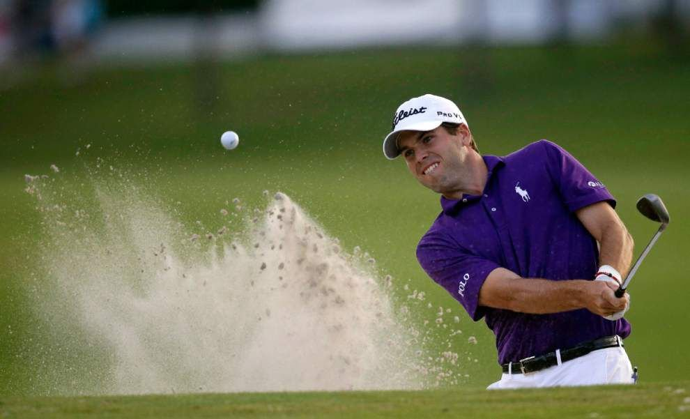 Ben Martin shoots course record 62 to take early Zurich Classic lead _lowres