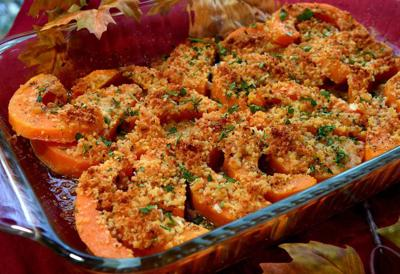 Eat Your Vegetales: Savory squash dish is super easy _lowres