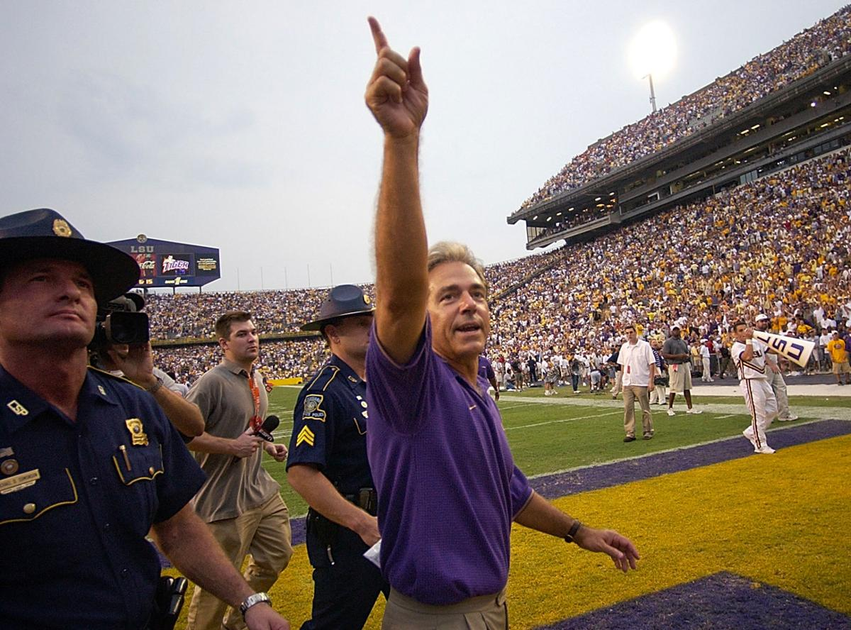 LSU Georgia 2003 Nick Saban