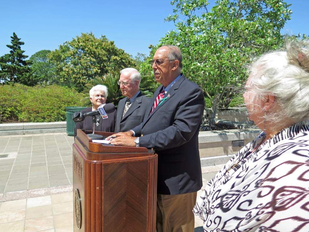 Environmental groups protest bill aimed at levee board lawsuits _lowres