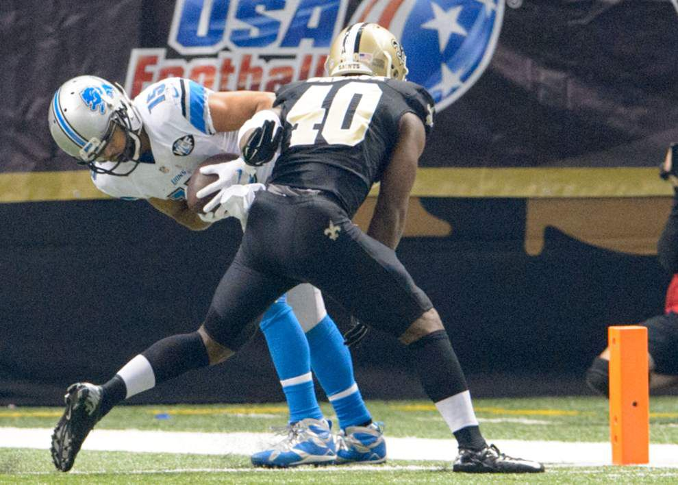 Final: Saints lose prime time, home game magic, fall to Lions 35-27 _lowres