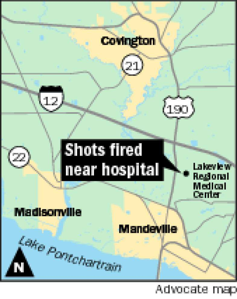 Man fires two shots near Lakeview Regional in Covington; police searching for shooter _lowres