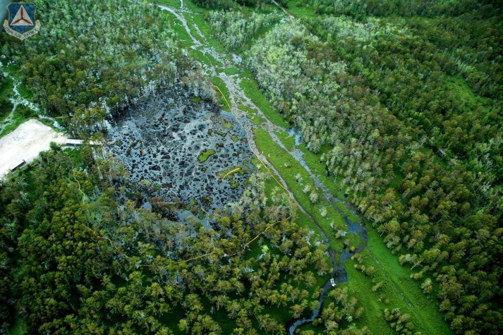 Assumption Parish starting to reap millions in back taxes owed discovered after the Bayou Corne sinkhole _lowres