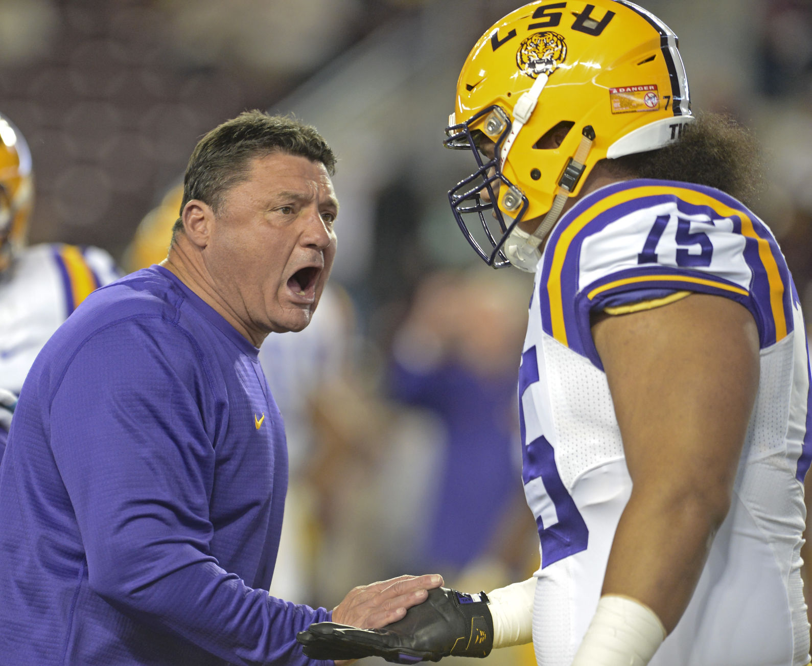 Former LSU OL Maea Teuhema granted permission to speak with 5 schools