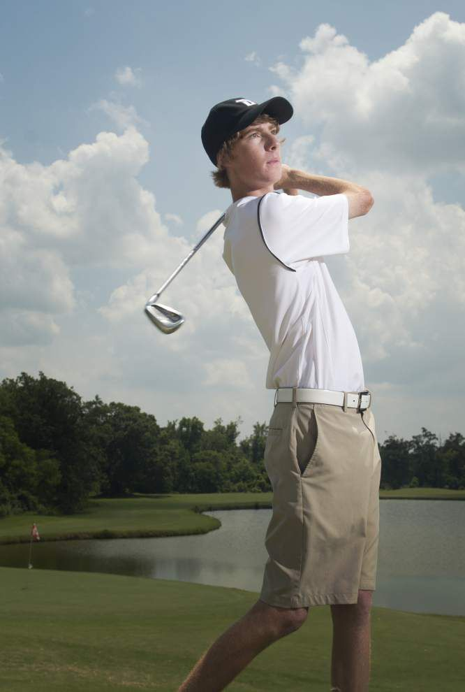 Dutchtown's Logan Leary tops The Advocate's all-metro boys golf team for Divisions I and II _lowres