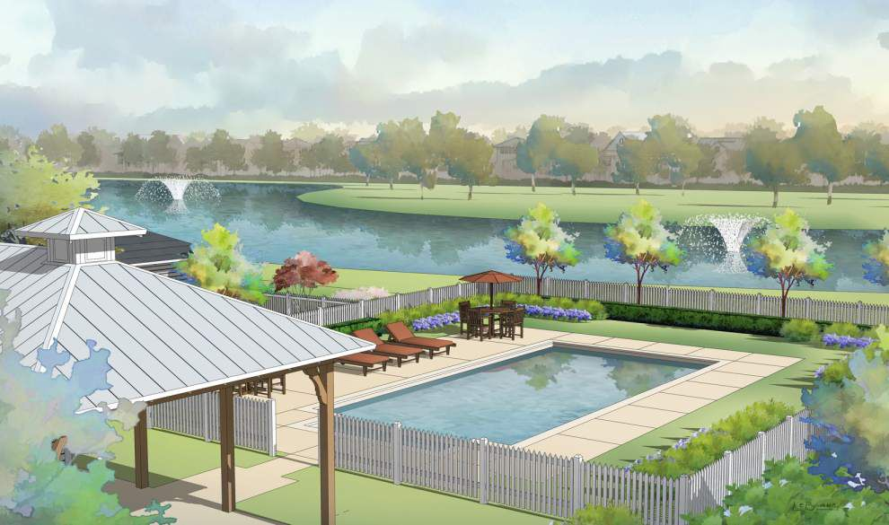 Plans underway to make the largest piece of undeveloped property in Gonzales into upscale, mixed use development _lowres