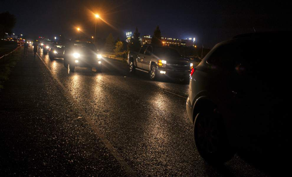 LSU post-game traffic plan 'success,' but some say wait until top SEC team, traffic roll in _lowres