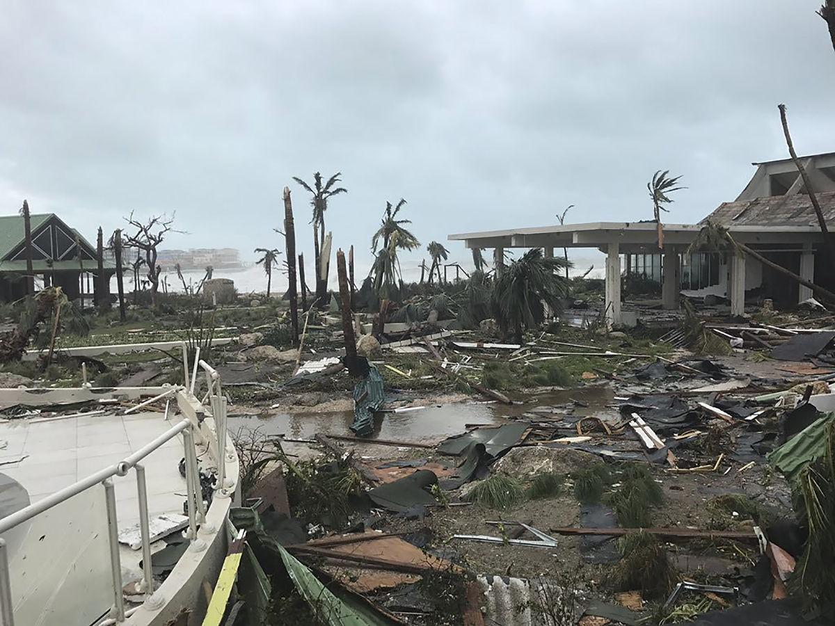 Destruction Left In Wake Of Hurricane Irma As Category 4