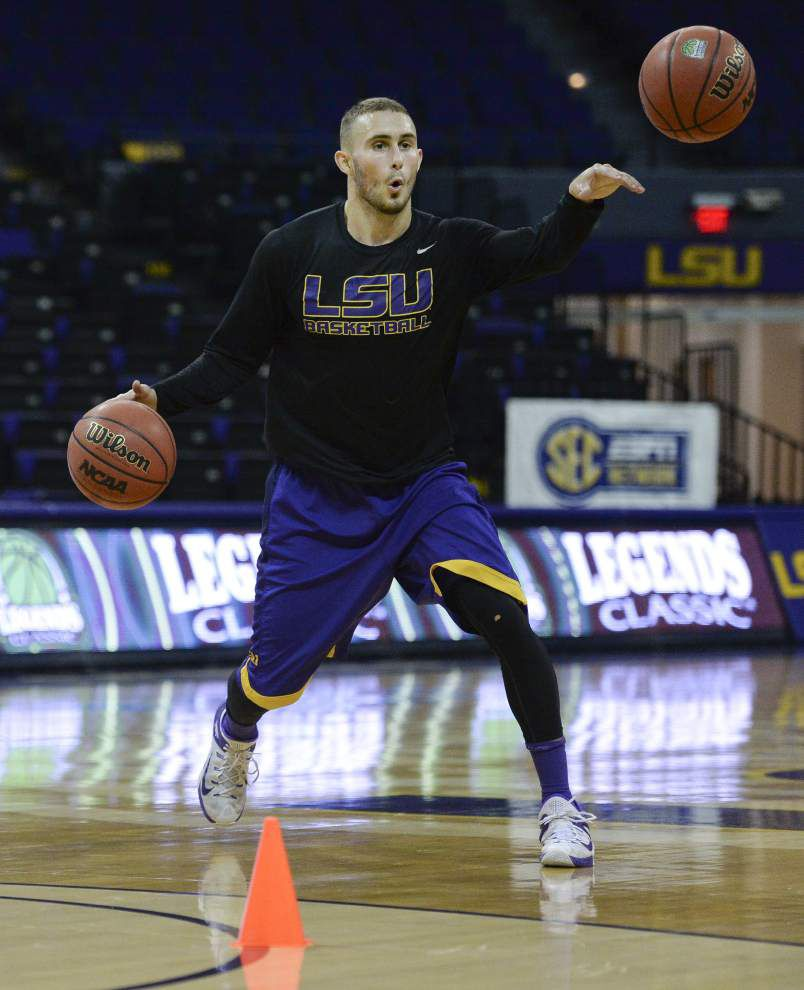 LSU guard Keith Hornsby ready to return for Houston game; Craig Victor likely to sit one last time _lowres