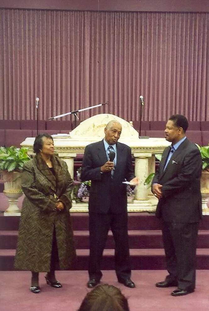 Church honors longtime member's service to community _lowres