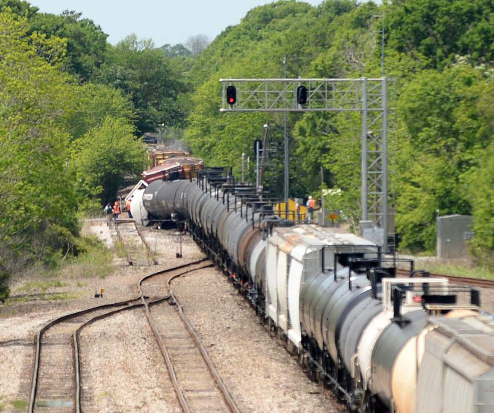 UPDATE: More than 100 homes evacuated following train derailment in Scott; evacuation order lifted at 8:15 p.m. _lowres