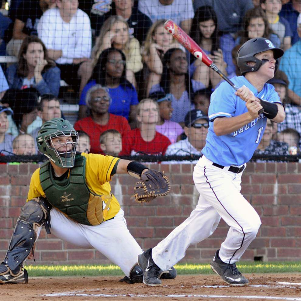 Zachary rides early barrage to 9-4 win over Walker, wraps up District 4-5A title _lowres