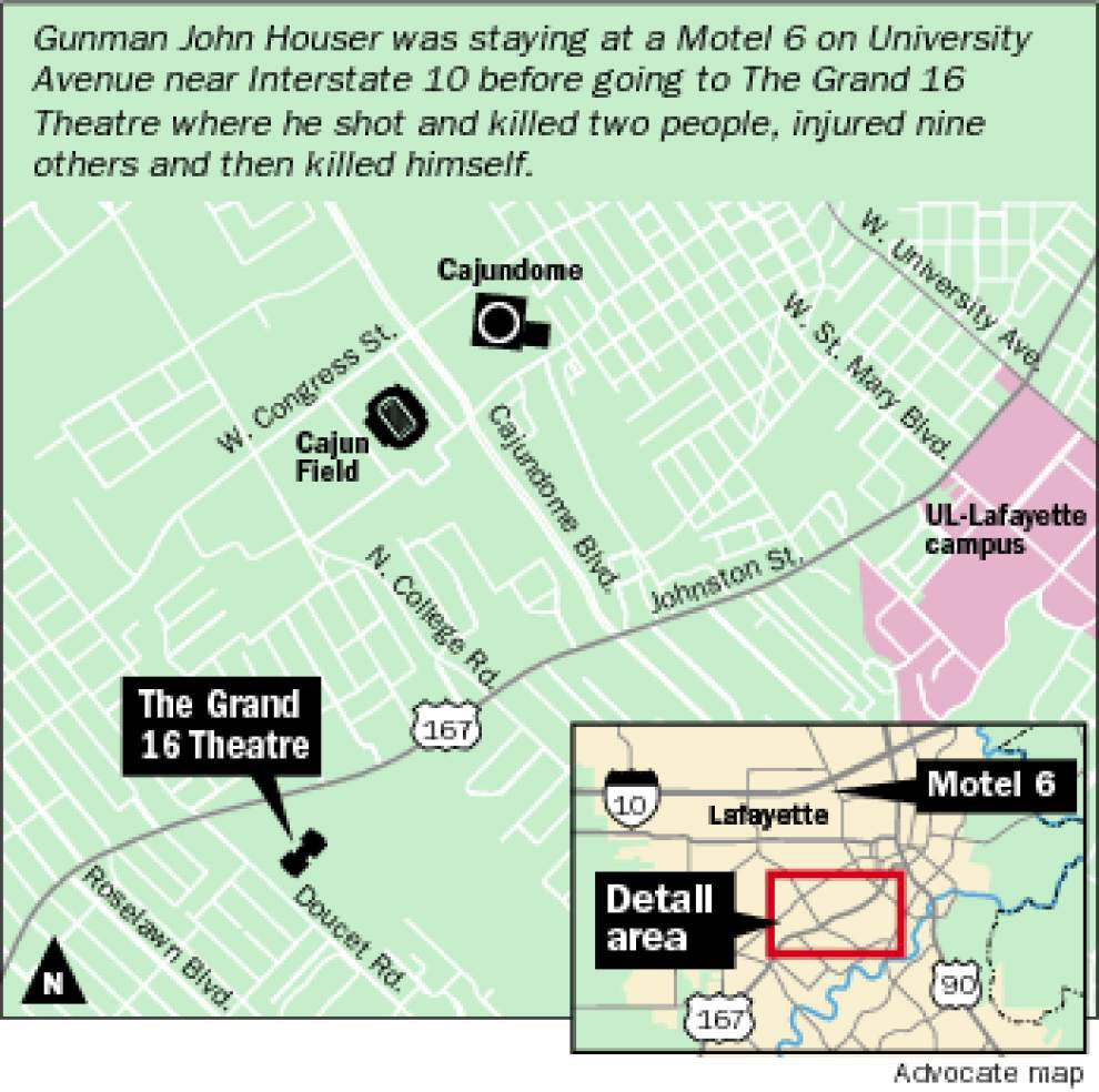 Lafayette theater shooter fired first 10 shots in less than a minute, police say _lowres