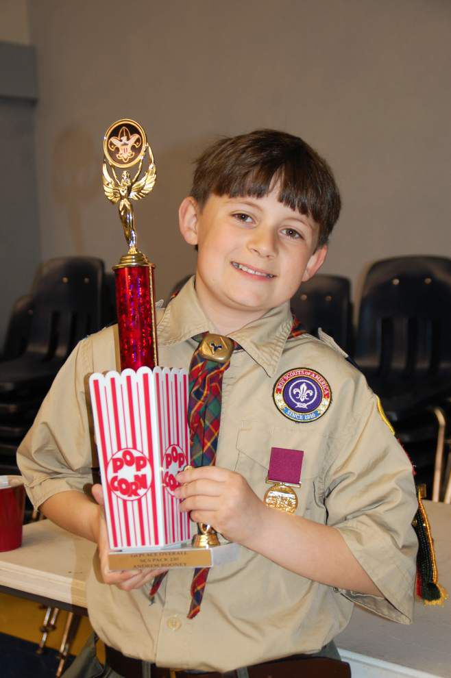 Metairie Cub Scouts celebrate accomplishments _lowres