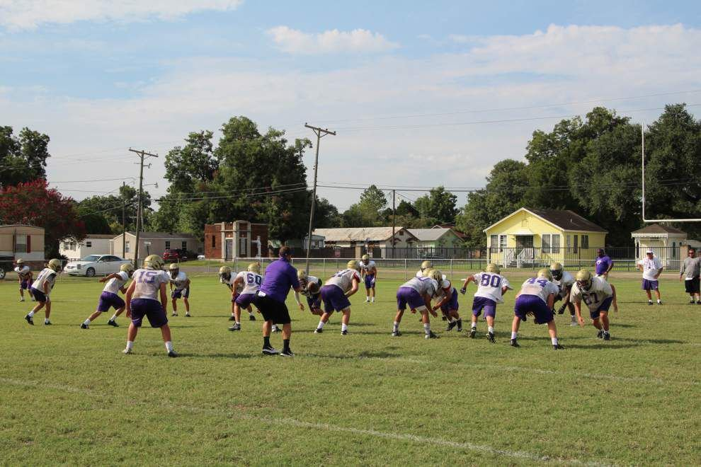 Freshman coach at Ascension Catholic is facing big challenges _lowres