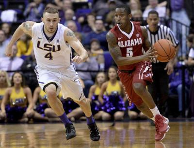LSU's Keith Hornsby has season-ending medical procedure, Johnny Jones says _lowres