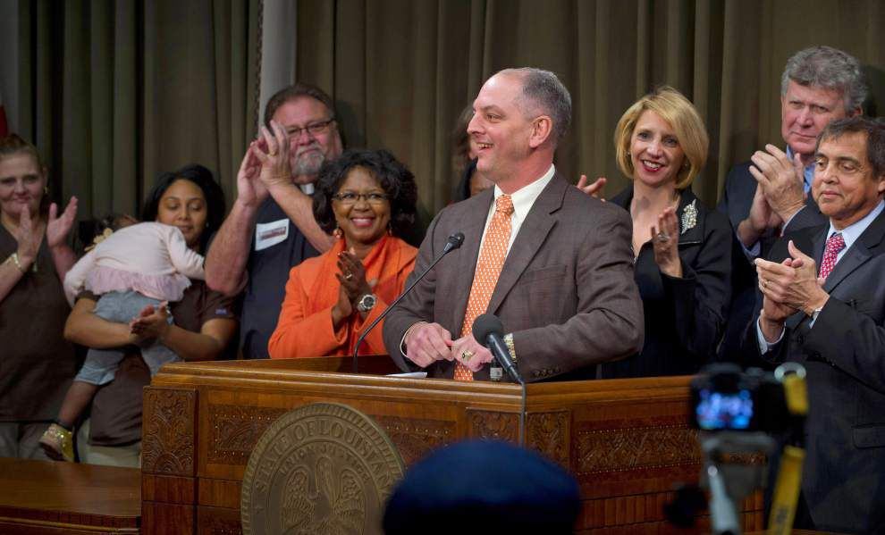 Gov. John Bel Edwards issues executive order to expand Medicaid _lowres