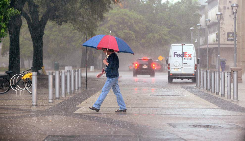 Plenty of rain -- and a chance of severe weather -- on the way for south Louisiana _lowres