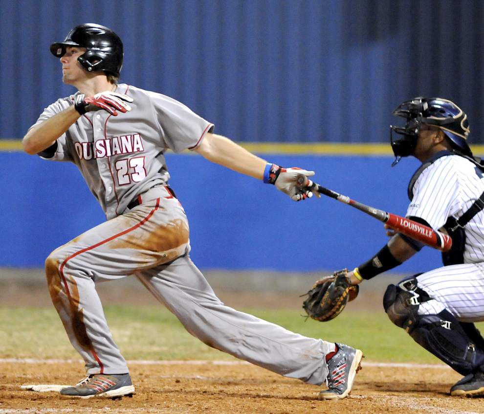 Ragin' Cajuns baseball team thumps Southern by mercy rule 14-1 _lowres