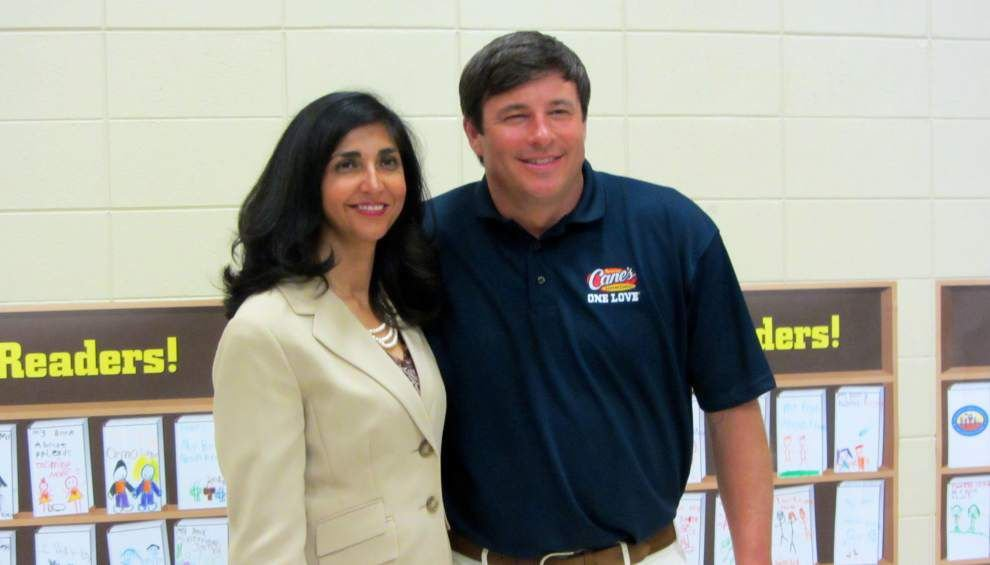 Jindal, Graves donate to La. literacy effort _lowres
