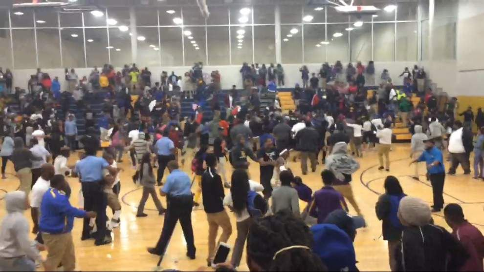'Frustrated' LHSAA chief: Landry-Walker, McDonogh 35 not allowed to play until brawl investigation finished; see video _lowres