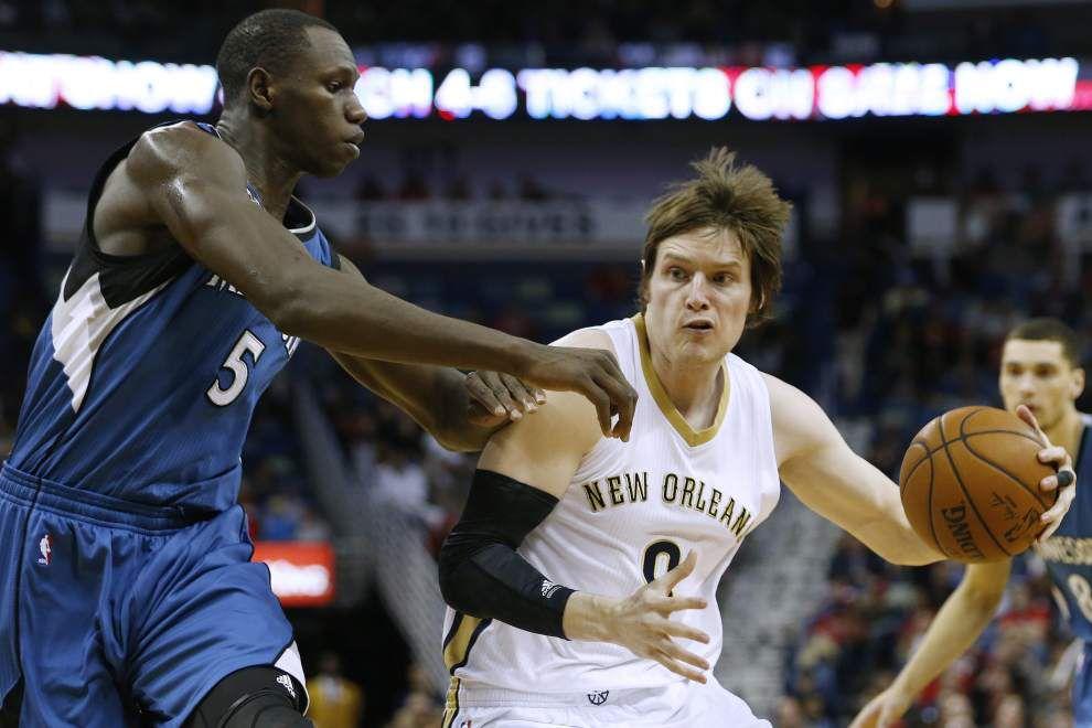 Hard-working Luke Babbitt picking up scoring slack on injury-riddled Pelicans _lowres