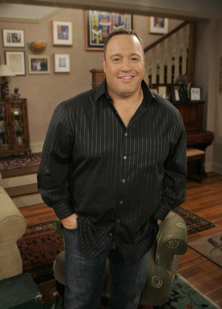 'King of Queens,' 'Paul Blart' actor Kevin James lunches at City Pork in Baton Rouge, orders the ... house salad _lowres