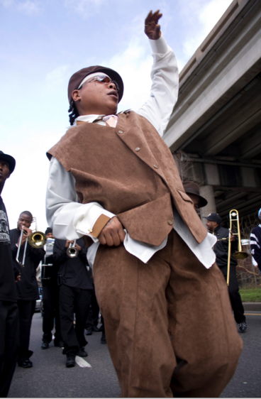 Second line Sunday: Undefeated Divas, Gents and Kids annual parade_lowres
