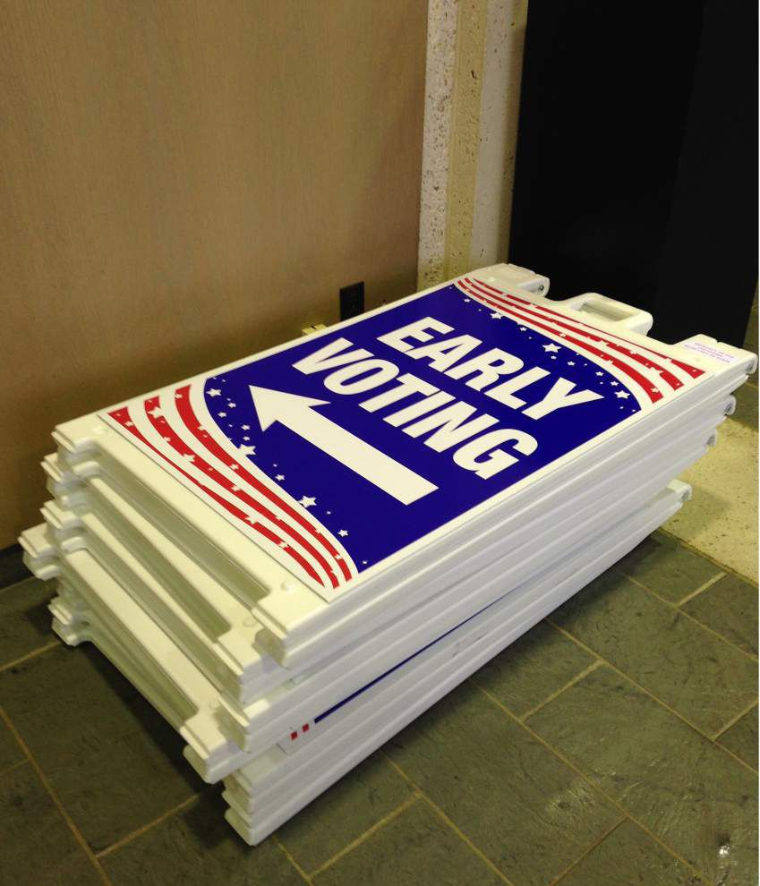 Why early voting vital for upcoming Louisiana elections (of course, football is one reason) _lowres