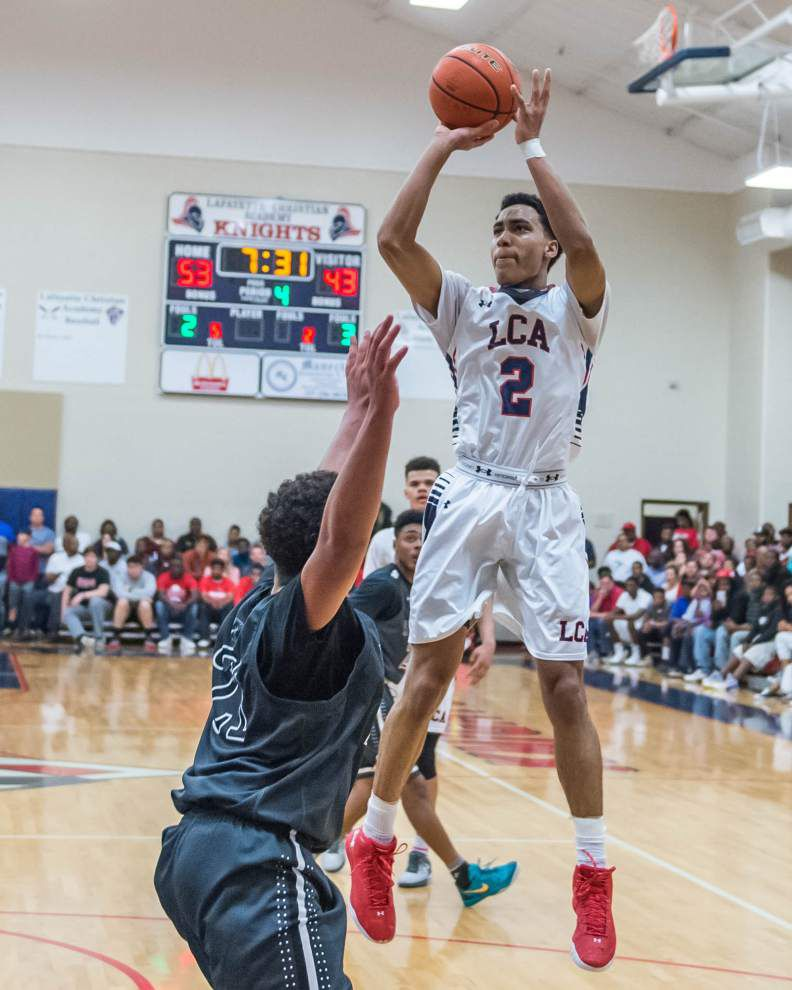 Kalob LeDoux's 36 points help Lafayette Christian pull away from persistent Hamilton Christian _lowres