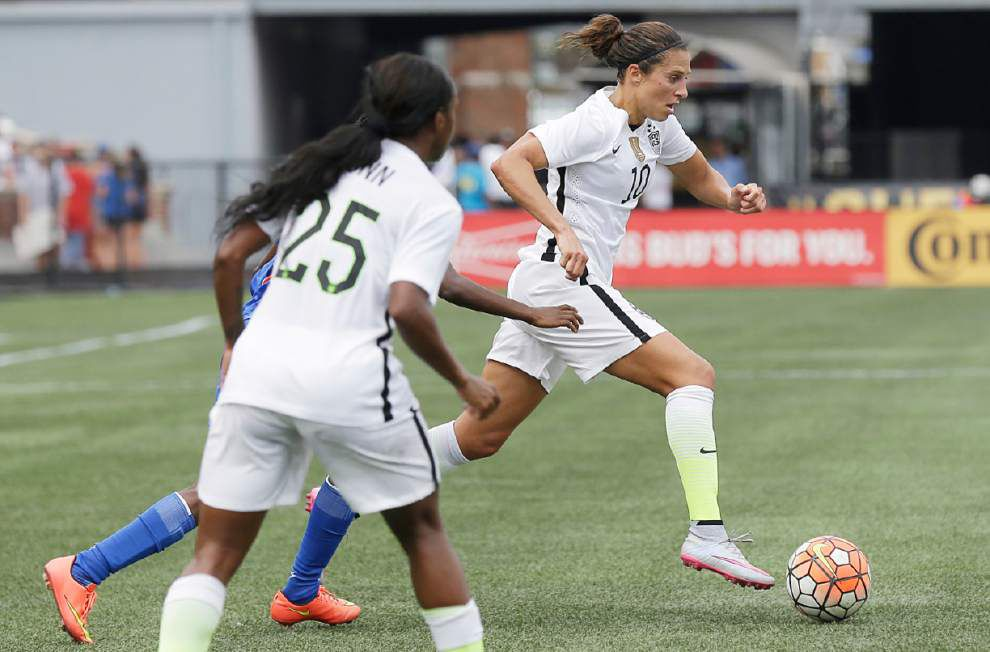 U.S. women's soccer team set to play final World Cup Victory Tour game in New Orleans _lowres