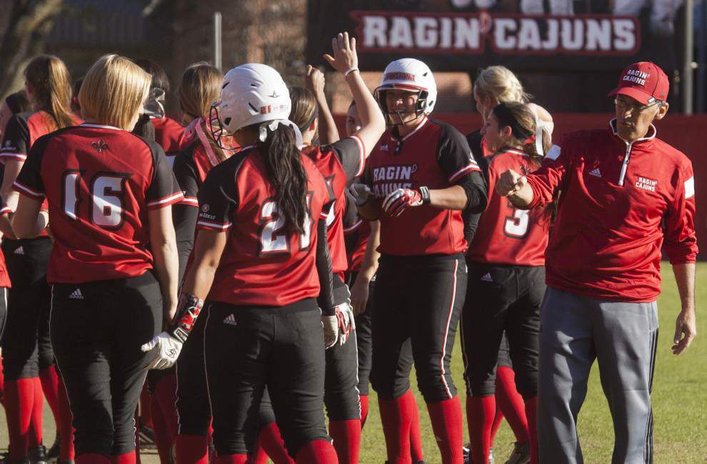 UL-Lafayette softball moves up to No. 7 in poll _lowres