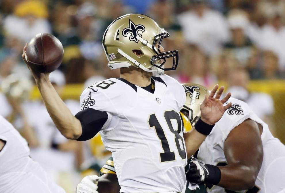 Saints at Packers: Nick Underhill's three and out _lowres