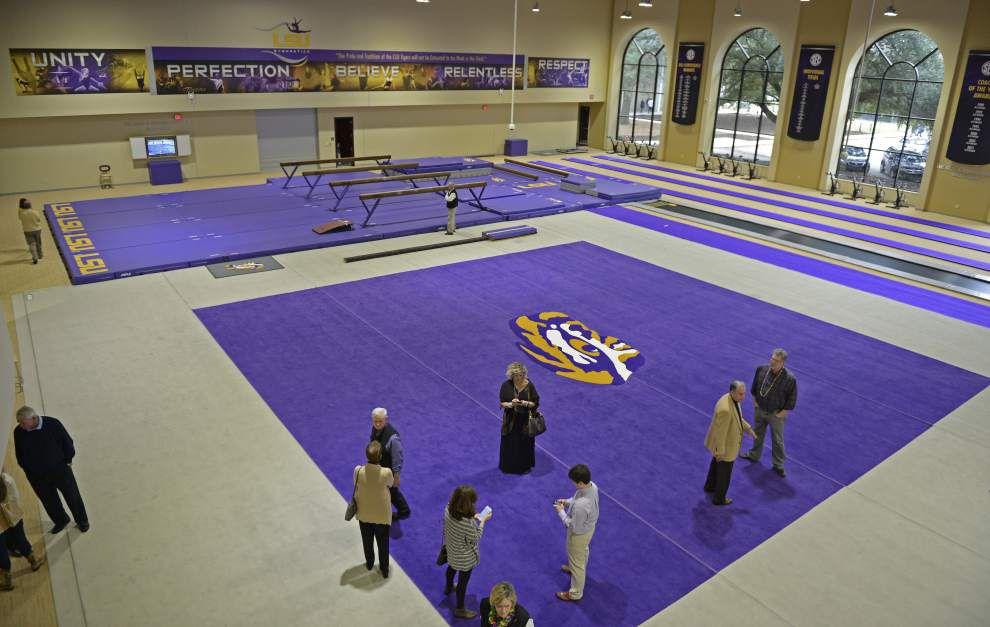 Photos: New LSU gymnastics facility unveiled Saturday _lowres
