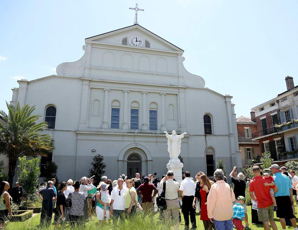 Photos: A look at repaired Sacred Heart of Jesus statue in New Orleans amid Katrina recovery _lowres