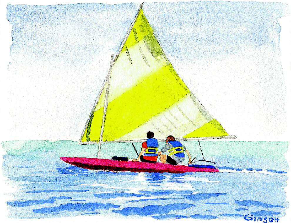 Bucket list shrinks with sail to Cat Island _lowres