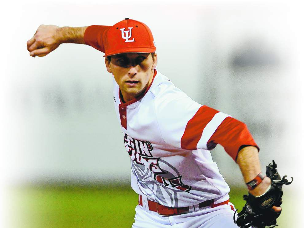 Cajuns pitcher Colton Lee resurrected his baseball career by changing his technique _lowres