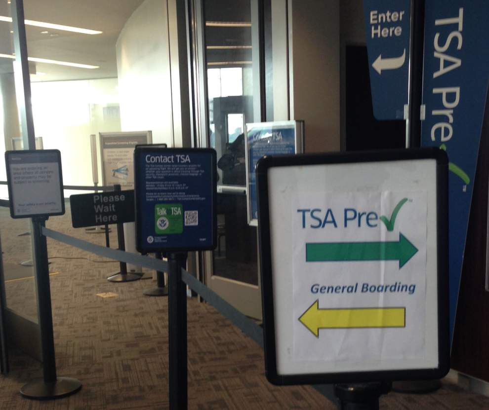 New program at Baton Rouge airport could help alleviate delays, nuisances at security checkpoint _lowres