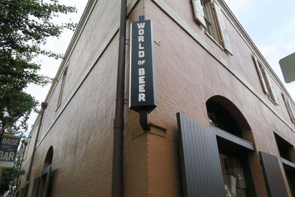 Beer-House District? A new World of Beer tavern adds to what's becoming a forest of taps in downtown New Orleans _lowres