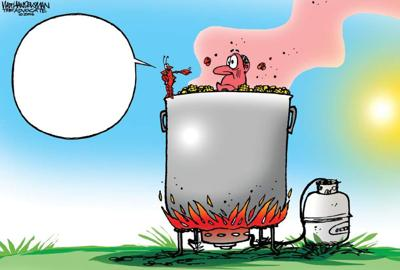 In Toon with Walt Handelsman contest: Who's your Crawdaddy? _lowres