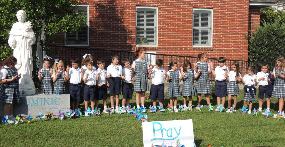 Students celebrate day for prayer, peace _lowres