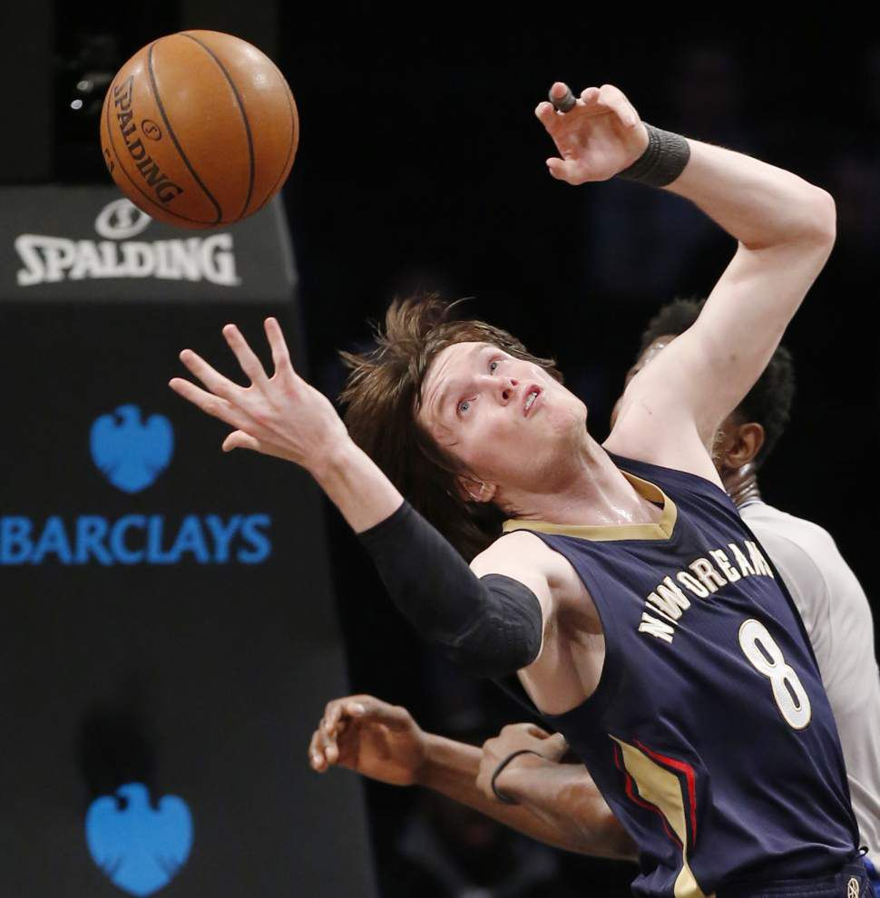 Tim Frazier's 19 points and 13 assists lead Pelicans to 106-87 win over Nets _lowres